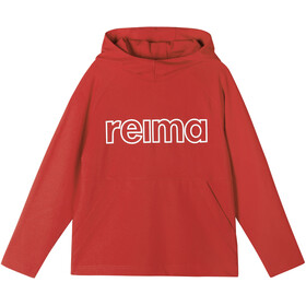 Reima Lupaus Hoodie Kids tomato red
